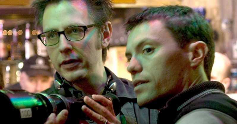 負責監製工作,打造出全新驚悚超級英雄故事《靈異乍現》的詹姆斯岡恩(左)。