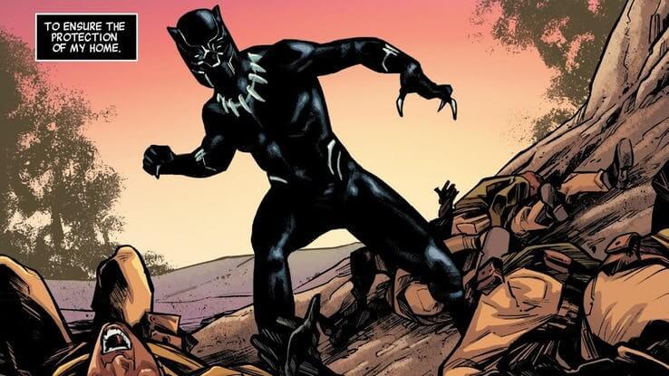 《黑豹》(Black Panther) 前導漫畫