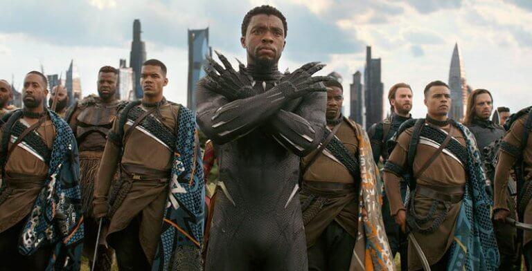 2018 年上半年票房冠軍:漫威工作室的超級英雄電影《黑豹》,為迪士尼旗下企業推出。