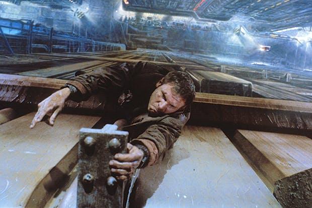 1982 年的科幻經典《銀翼殺手》。