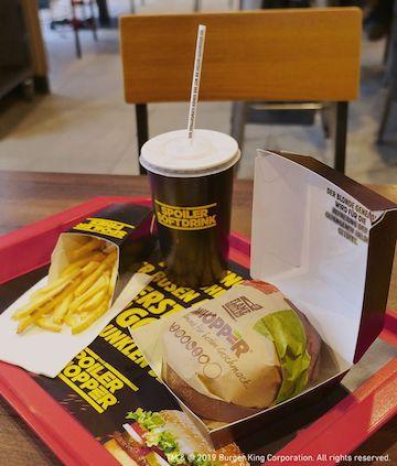 德國漢堡王推出「爆雷華堡餐」考驗星戰影迷對華堡的熱愛。