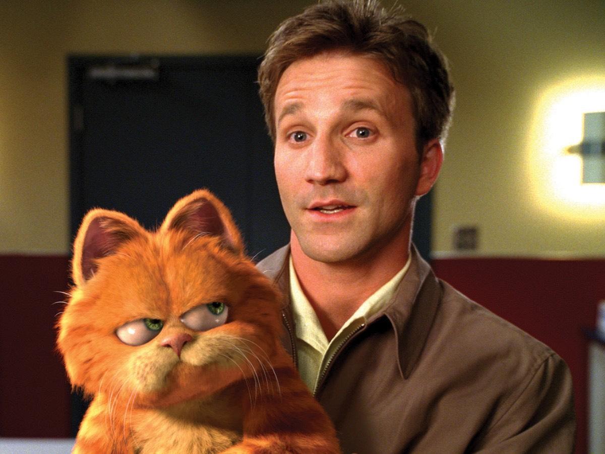 2004年的電影作品《 加菲貓 》。