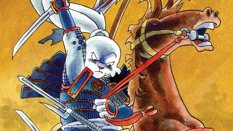 【線上看】武士兔兔!Netflix 將改編阪井正彥漫畫《兔用心棒》為動畫影集《武士兔:兔編年史》首圖