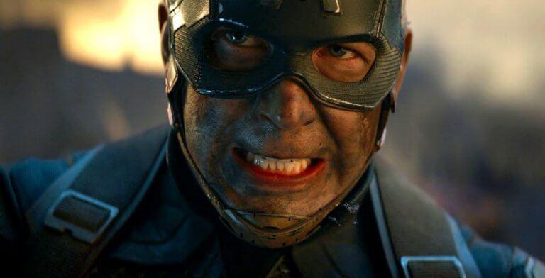 即將上映的漫威超級英雄電影《復仇者聯盟:終局之戰》中的美國隊長劇照。