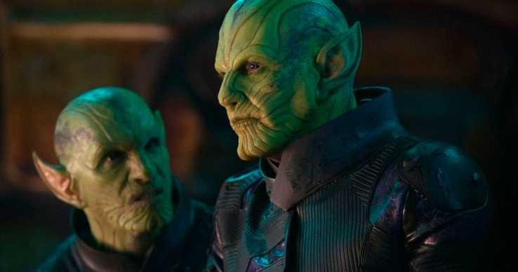 《驚奇隊長》中的主要反派:外星種族史克魯爾人將會威脅地球和平。