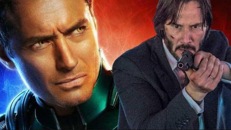 你知道嗎?基哥原本有望演出《驚奇隊長》裘德洛的神祕角色,卻與《捍衛任務 3》撞行程