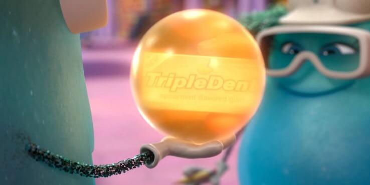 《玩具總動員 4》(Toy Story 4) Tripledent 口香糖。