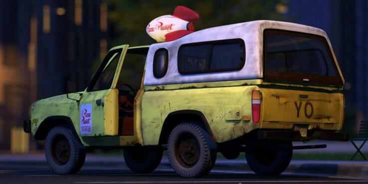 《玩具總動員 4》(Toy Story 4)比薩星球卡車