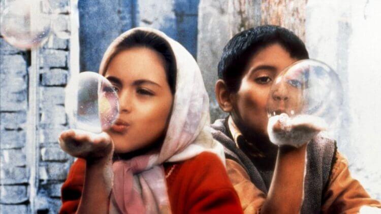 伊朗電影《天堂的孩子》。