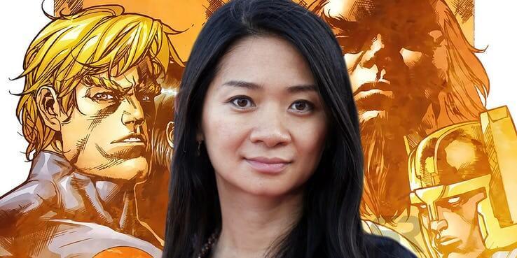 《永恆族》將由趙婷 (Chloe Zhao) 執導。