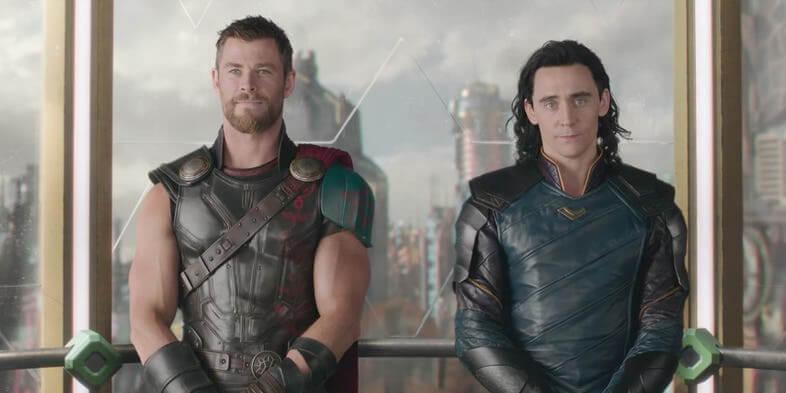 在 漫威 Marvel 復仇者聯盟 無限之戰 前 索爾 與 洛基