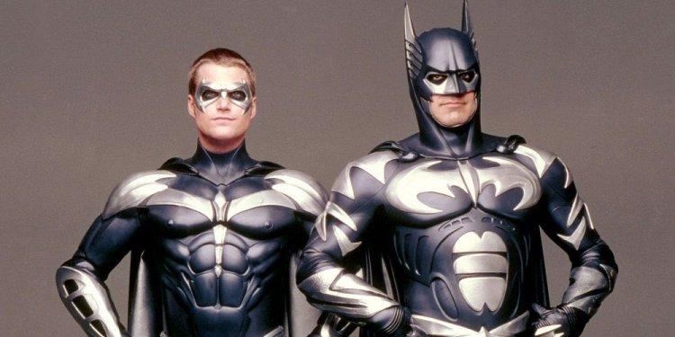 《蝙蝠俠4:急凍人》劇照。