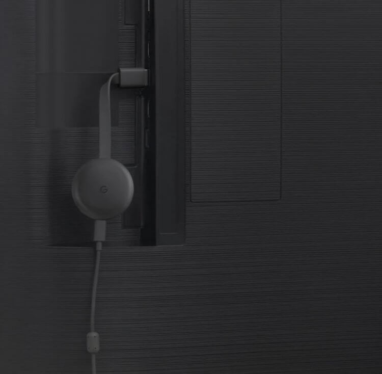 手機影片同步到電視:Chromecast 第三代媒體串流播放器。