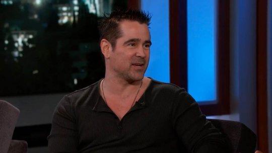 柯林法洛 (Colin Farrell) 上吉米夜現場 (Jimmy Kimmel Live!)
