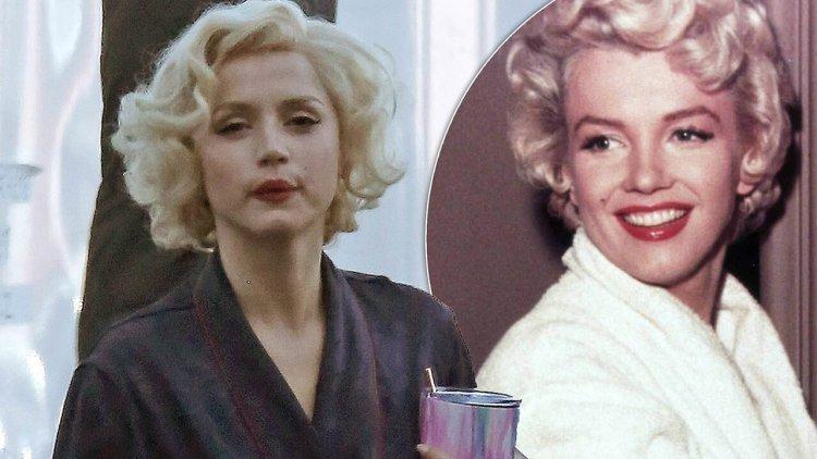《鋒迴路轉》、《007:生死交戰》後,新一代女神——安娜德哈瑪絲將在《Blonde》挑戰詮釋瑪麗蓮夢露首圖