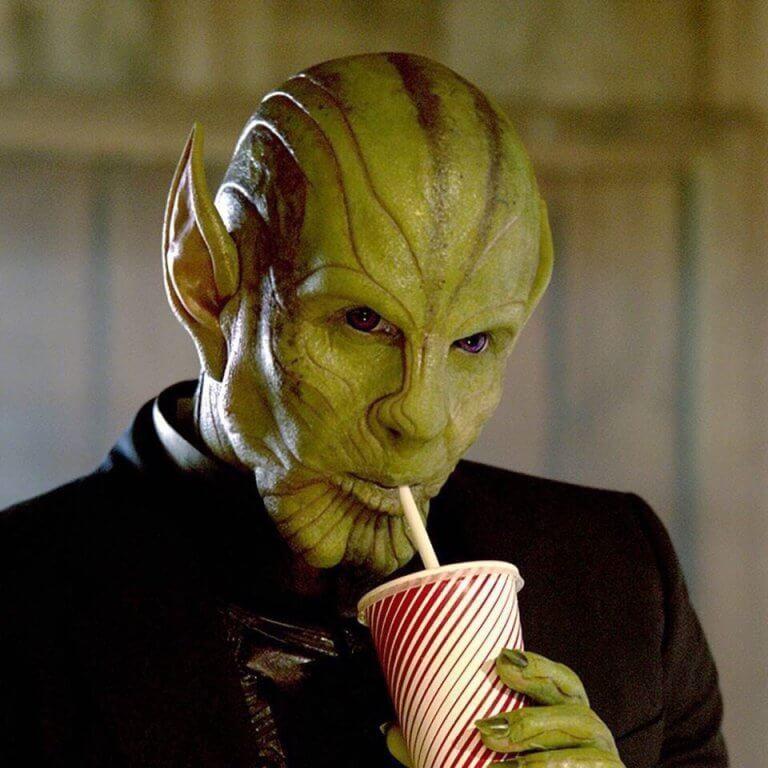 漫威超級英雄電影《驚奇隊長》中,由班曼德森飾演的史克魯爾人首領塔洛斯。