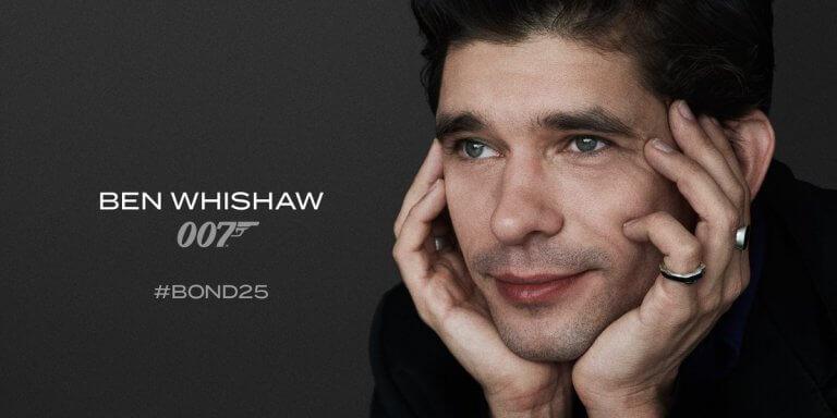 班維蕭 (Ben Whishaw) 又將回歸「龐德25」(Bond 25)。