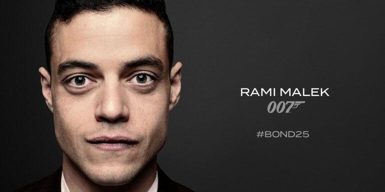 雷米馬利克(Rami Malek)正式確認加入007新片「Bond25」陣容