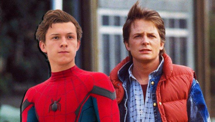 湯姆霍蘭德曾表示《回到未來》系列米高福克斯飾演的馬蒂麥克佛萊是他詮釋蜘蛛人的靈感來源。