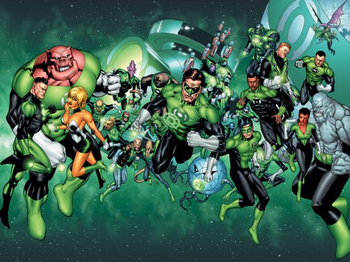 DC宇宙 當中可別忘了《 綠光戰警 》。