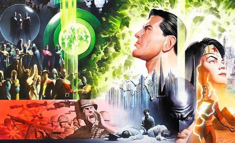 「無限地球危機」將 DC 五個世界合而為一。