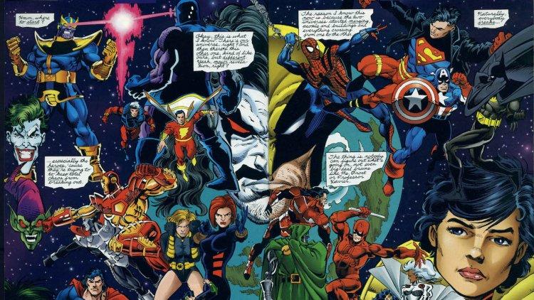 《綠野仙蹤》為 DC 與漫威合作的契機! 兩大漫畫巨頭最高潮互動 DC vs. Marvel 介紹首圖