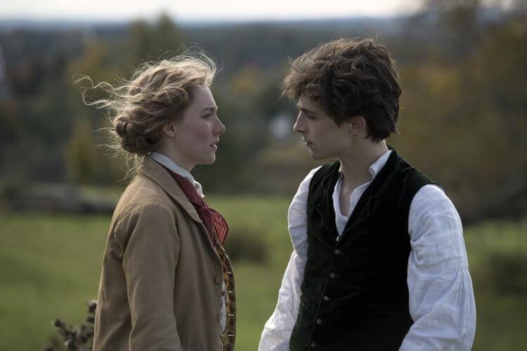 葛莉塔潔薇(Greta Gerwig) 新作《她們》劇照。