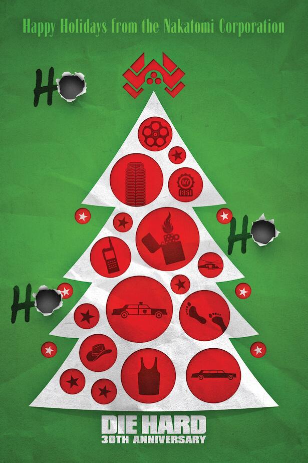 《終極警探》(Die Hard) 是史上最棒的聖誕節電影無誤!