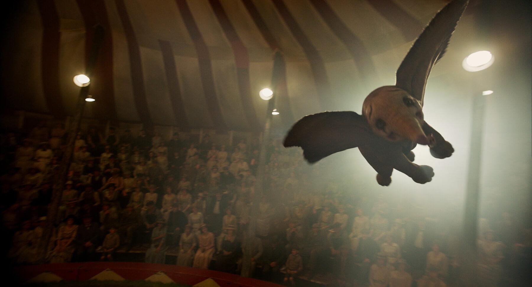 迪士尼 2019 年由提姆波頓執導的真人版《小飛象》,與近 80 年前動畫版電影有截然不同的故事呈現。
