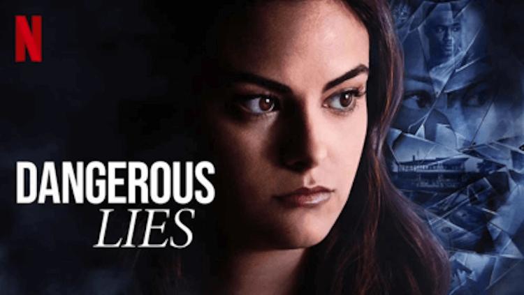 Netflix 驚悚電影《危險謊言》卡蜜拉曼德斯。