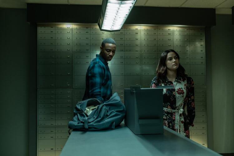 Netflix 驚悚電影《危險謊言》電影劇照。