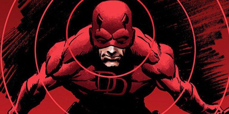 漫威漫畫中,擁有除了視覺之外的超能感知力,超級英雄夜魔俠。