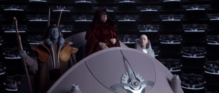 《星際大戰三部曲:西斯大帝的復仇》劇照
