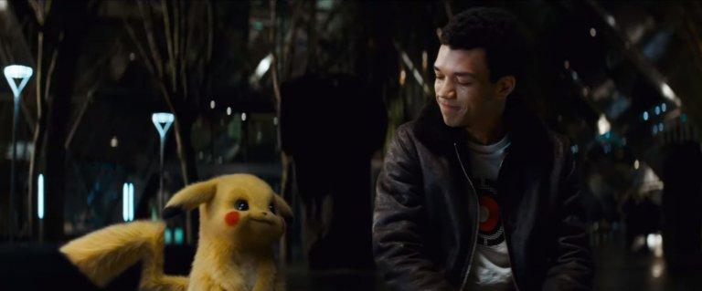 《名偵探皮卡丘》(Detective Pikachu) 預告照片。