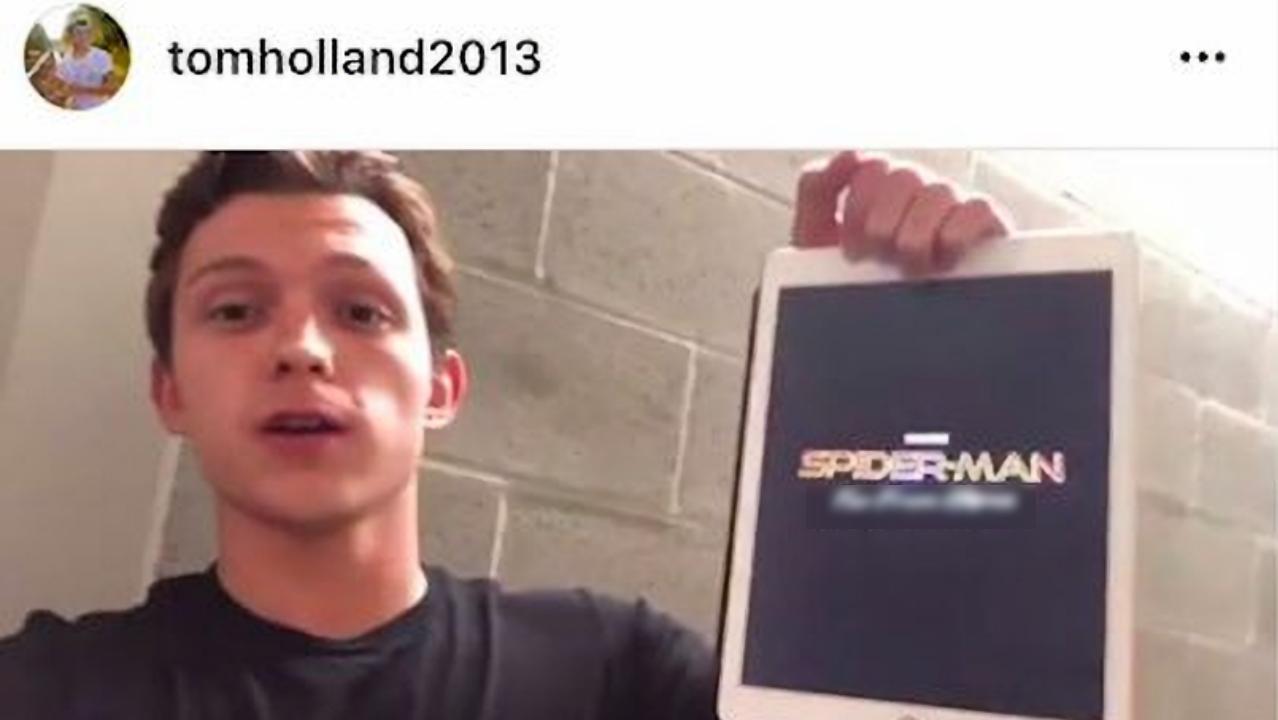 猜猜誰暴雷了《蜘蛛人:返校日》續集片名?湯姆霍蘭德又是你──