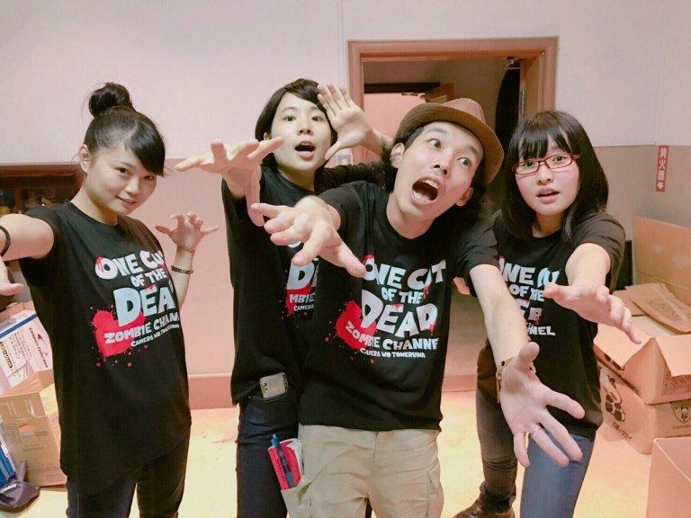 導演上田慎一郎發現街上開始有人穿著《一屍到底》的T恤