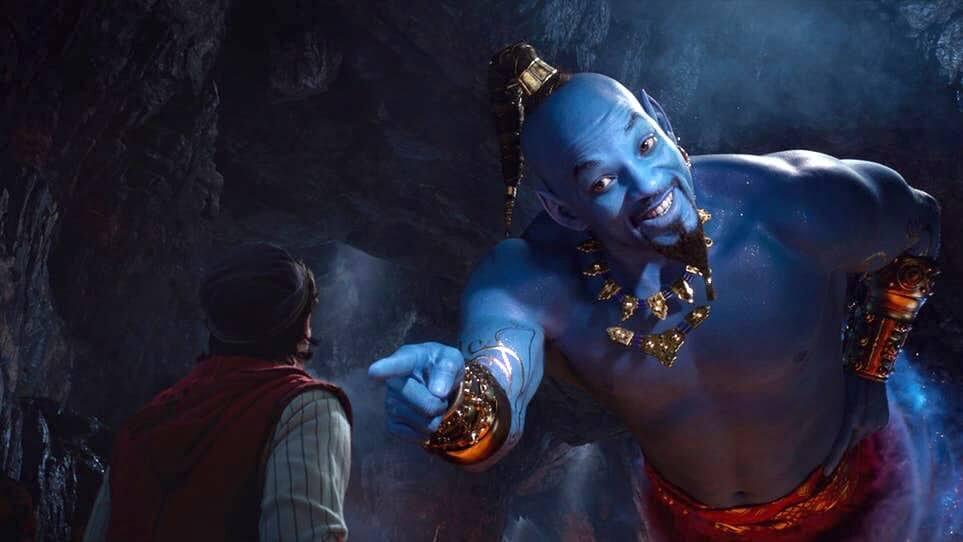 接棒羅賓威廉斯,威爾史密斯飾演迪士尼真人版《阿拉丁》電影中的「精靈」。