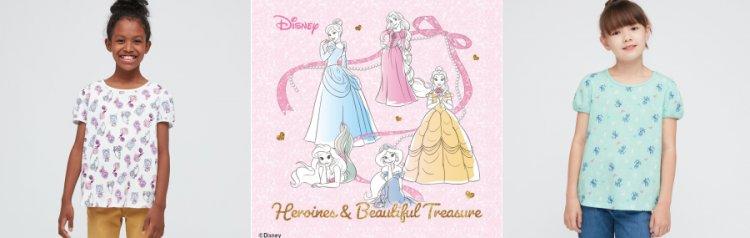 迪士尼公主主題的童裝 UT 再度登場。