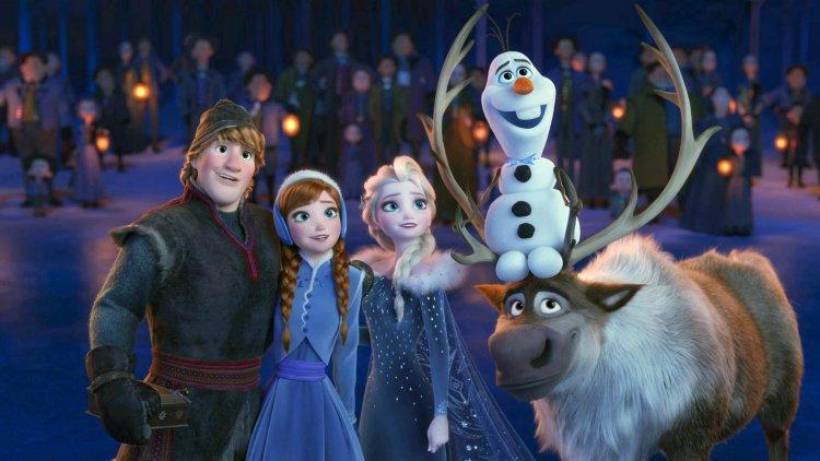 《冰雪奇緣 2》劇照。