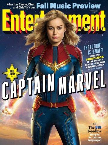 娛樂週刊 EW 刊登的《 驚奇隊長 》封面圖。