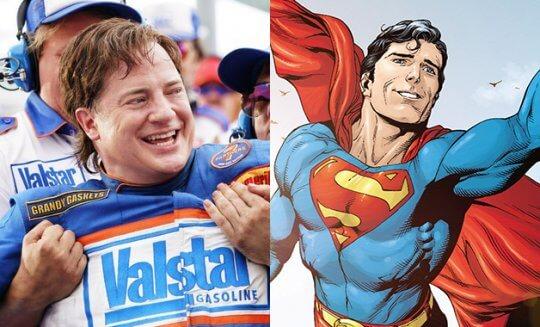 布蘭登費雪當時也是超人的候選人