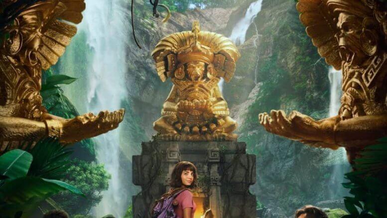 真人版愛探險的 DORA!《朵拉與失落的黃金城》電影即將上映,預告海報接連公開。