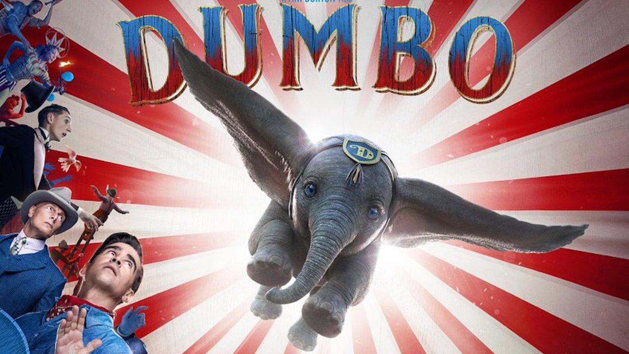 飛吧,小飛象!迪士尼真人版《小飛象》釋出全新海報&預告片首圖