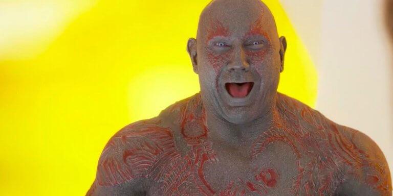 最終我們所看到的《星際異攻隊》由巴帝斯塔飾演德克斯,也非常受到粉絲的喜愛。
