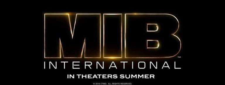 《MIB 星際戰警:國際》電影標準字 LOGO 終於公開。