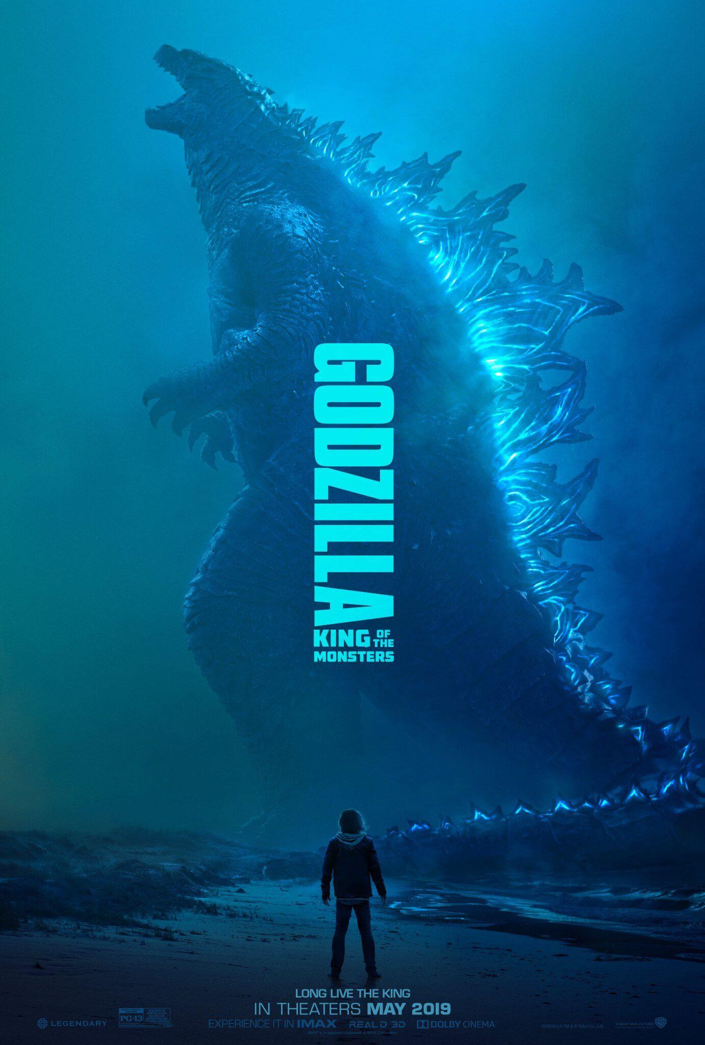 《哥吉拉 2:怪獸之王》電影海報。
