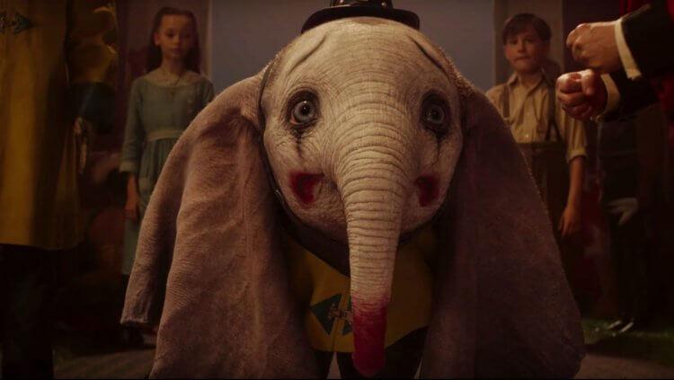 《小飛象》(Dumbo) 劇照。