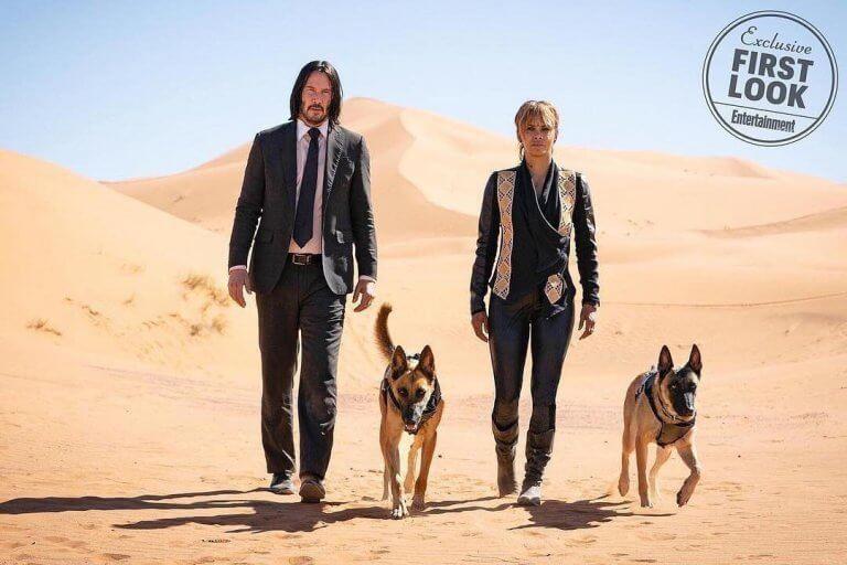 《捍衛任務 3》最新劇照中,除了基努李維與荷莉貝瑞之外還有更多的狗!