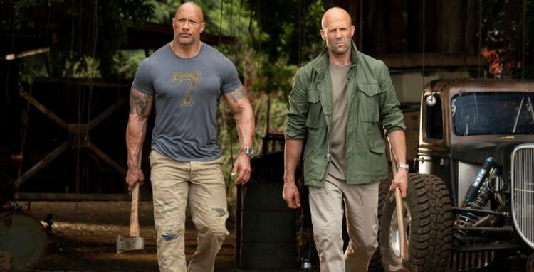 《玩命關頭:特別行動》(Fast and Furious Presents: Hobbs and Shaw) 劇照。