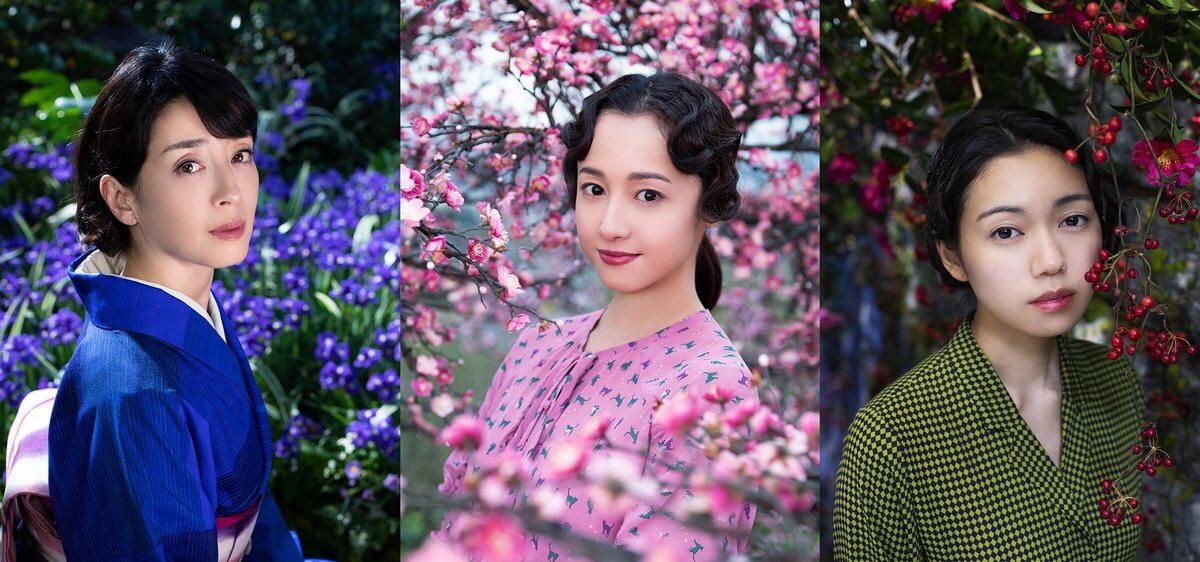 再度翻上大銀幕的《人間失格》由蜷川實花執導,講述已故日本文豪太宰治與三位女性之間的戀與愛及其短暫的人生。